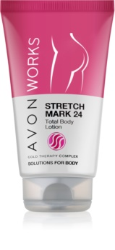 Avon Works mleczko do ciała przeciw rozstępom