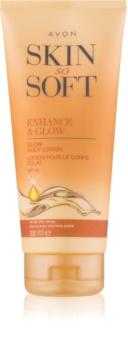 Avon Skin So Soft lait auto-bronzant SPF 15