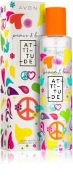 Avon Peace & Love eau de toilette pentru femei 50 ml