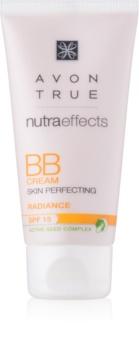 Avon True NutraEffects crema BB cu efect de iluminare SPF 15