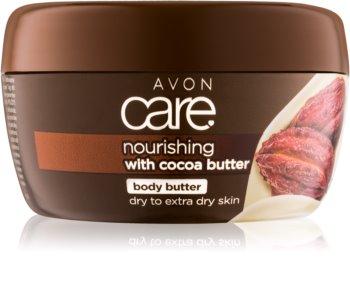Avon Care подхранващ крем за тяло с какаово масло