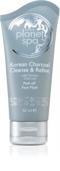 Avon Planet Spa Korean Charcoal Cleanse & Refine slupovací pleťová maska s aktivním uhlím