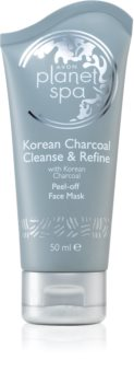 Avon Planet Spa Korean Charcoal Cleanse & Refine маска для обличчя з активованим вугіллям