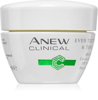 Avon Anew Clinical Feuchtigkeit spendende Tagescreme für einen vereinheitlichten Hautton SPF 35