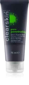 Avon Clearskin  Pore Penetrating pleťová maska s minerály