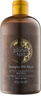 Avon Planet Spa Indulgent SPA Ritual schiuma da bagno con burro di karité e cioccolata