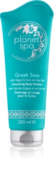 Avon Planet Spa Greek Seas exfoliant de corp pentru matifiere cu extract de alge marine