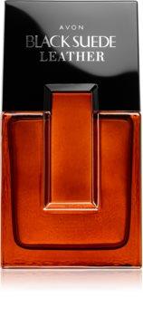 Avon Black Suede Leather eau de toilette pour homme