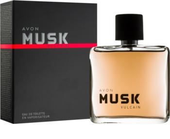 Avon Musk Vulcain eau de toilette per uomo 75 ml