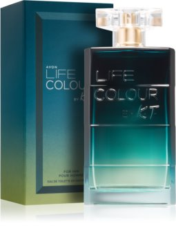 Avon Life Colour by K.T. Eau de Toilette for Men 75 ml