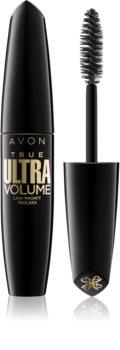 Avon True Ultra Volume Mascara für mehr Volumen und gebogene Wimpern