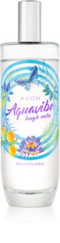 Avon Aquavibe Laugh More Bodyspray für Damen 100 ml