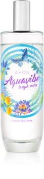 Avon Aquavibe Laugh More telový sprej pre ženy 100 ml