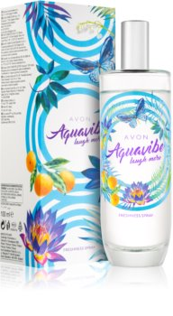 Avon Aquavibe Laugh More spray pentru corp pentru femei 100 ml