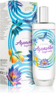 Avon Aquavibe Laugh More tělový sprej pro ženy 100 ml