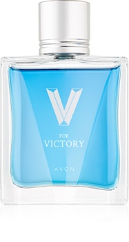 Avon V for Victory toaletna voda za moške 75 ml