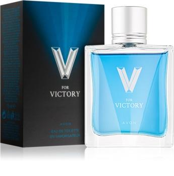 Avon V for Victory Eau de Toilette voor Mannen 75 ml