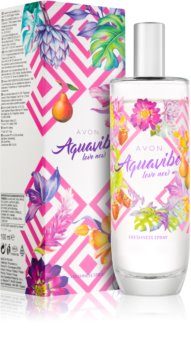 Avon Aquavibe Love Now spray corporel pour femme 100 ml