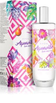 Avon Aquavibe Love Now spray do ciała dla kobiet 100 ml