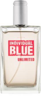 Avon Individual Blue Unlimited Eau de Toilette voor Mannen 100 ml