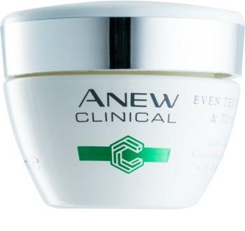 Avon Anew Clinical éjszakai krém egységesíti a bőrszín tónusait