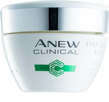 Avon Anew Clinical Nachtcreme zum vereinheitlichen der Hauttöne