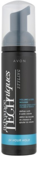 Avon Advance Techniques 24 Hour Hold espuma para cabelo encaracolado