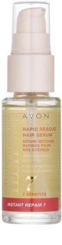 Avon Advance Techniques Instant Repair 7 възстановявящ серум за коса с мигновен ефект