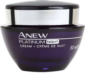 Avon Anew Platinum éjszakai krém ránctalanító mély