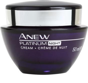 Avon Anew Platinum Nachtcrème  voor behandeling van Diepe Rimpels