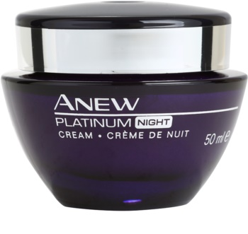 Avon Anew Platinum noční krém proti hlubokým vráskám