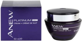 Avon Anew Platinum Night Cream To Treat Deep Wrinkles