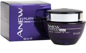Avon Anew Platinum Nachtcreme gegen tiefe Falten