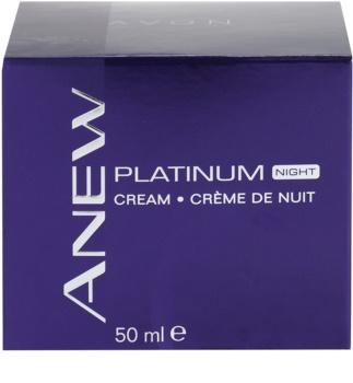 Avon Anew Platinum nočný krém proti hlbokým vráskam