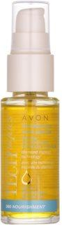 Avon Advance Techniques 360 Nourishment vyživující sérum na vlasy s marockým arganovým olejem