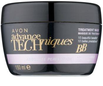 Avon Advance Techniques Absolute Perfection regenerační maska na vlasy