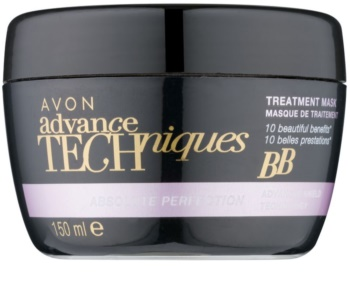 Avon Advance Techniques Absolute Perfection regenerierende Maske für die Haare