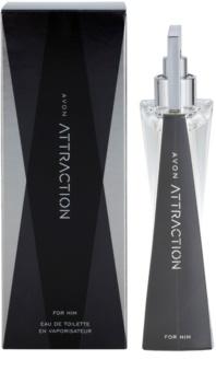 Avon Attraction for Him eau de toilette para homens 75 ml