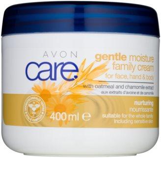 Avon Care Creme für Gesicht und Körper mit Kamille und Haferextrakt