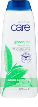 Avon Care leche corporal calmante con té verde