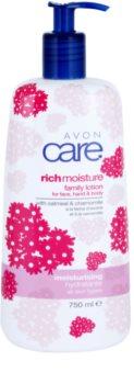 Avon Care hydratačné telové mlieko s harmančekom a výťažkami z ovsa