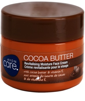 Avon Care Revitalizing Moisturizing Face Cream with Cocoa Butter
