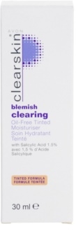 Avon Clearskin  Blemish Clearing crema hidratante con color para pieles problemáticas