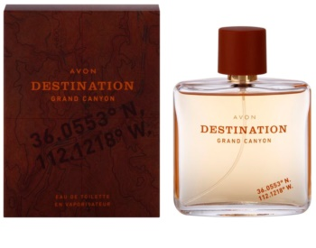 Avon Destination Grand Canyon eau de toilette uraknak 75 ml