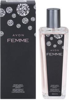 Avon Femme deodorant s rozprašovačem pro ženy 75 ml