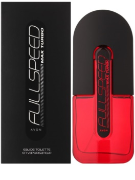 Avon Full Speed Max Turbo Eau de Toilette for Men 75 ml