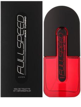 Avon Full Speed Max Turbo Eau de Toilette Für Herren 75 ml