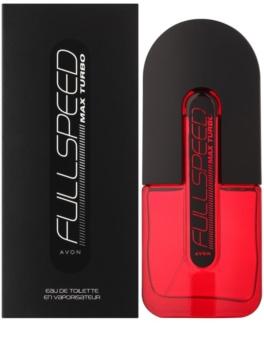 Avon Full Speed Max Turbo Eau de Toilette voor Mannen 75 ml