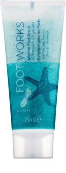 Avon Foot Works Healthy exfoliant pentru talpile picioarelor