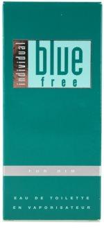 Avon Individual Blue Free Eau de Toilette voor Mannen 100 ml